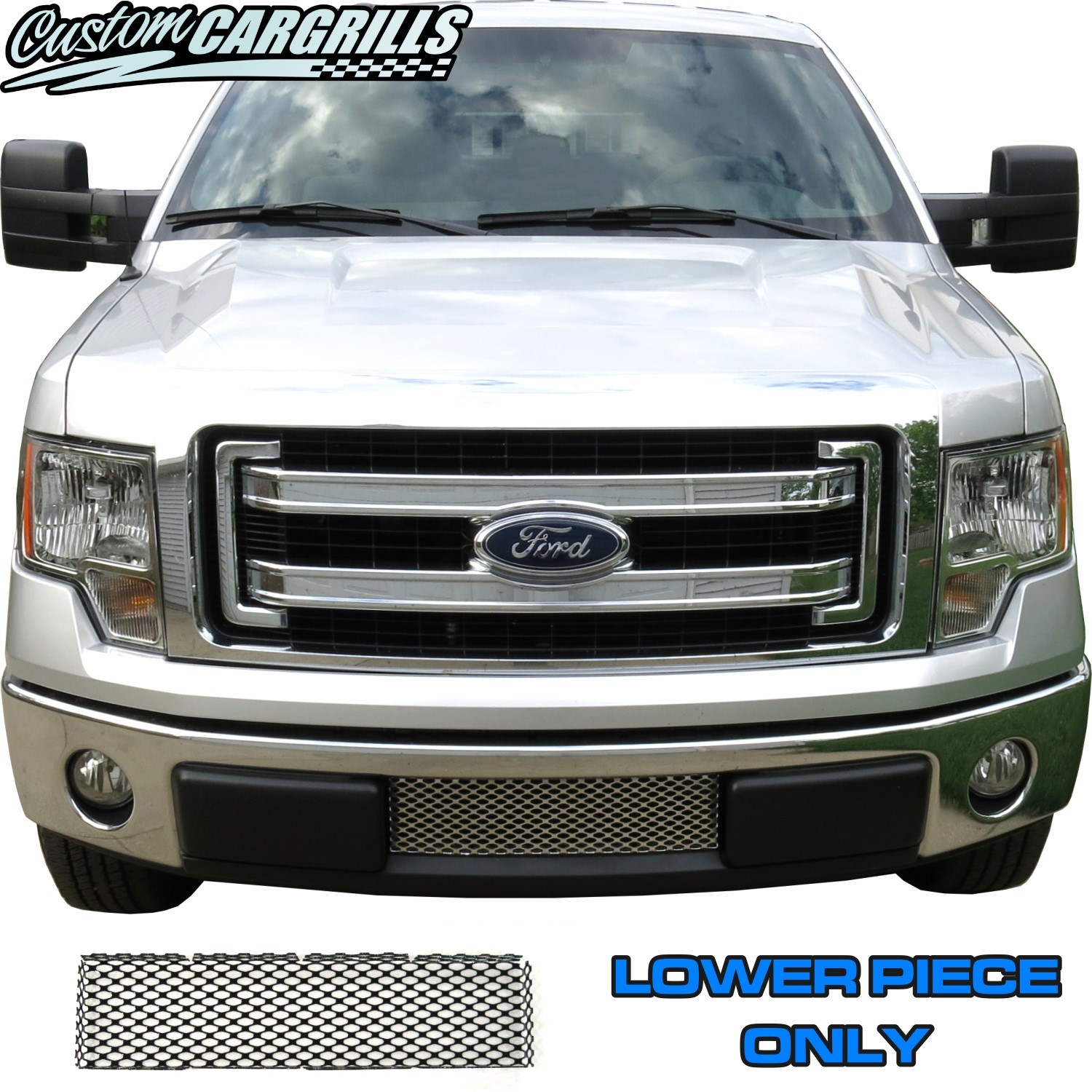2009 - 2013 Ford F-150 Lower Bumper Mesh Kit
