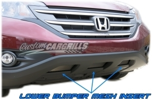 2012-14 Honda CRV Lower Bumper Mesh Kit