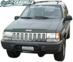 93-95 Jeep Grand Cherokee Mesh Grill Kit