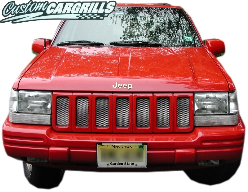 96-98 Jeep Grand Cherokee Mesh Grill Kit