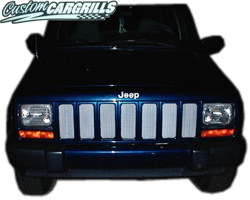 1997 01 Jeep Cherokee Mesh Grill Insert Kit By Customcargrills