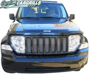 Mesh Grill Kit For 2008-12 Jeep Liberty