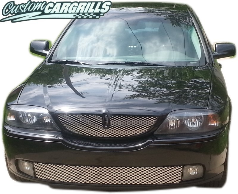 2003 06 Lincoln Ls Mesh Grill Kit By Customcargrills