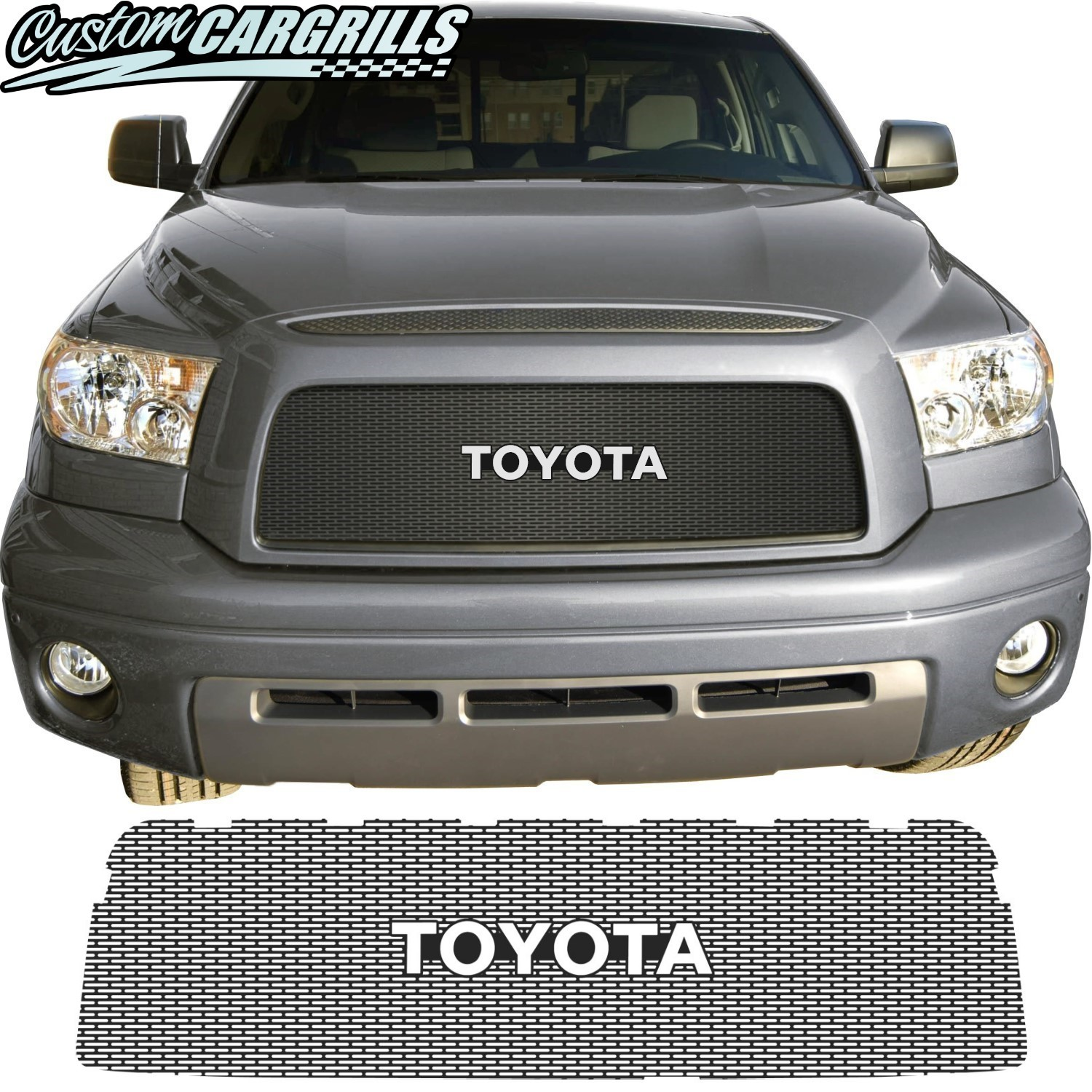 2007-09 Toyota Tundra Mesh Grills by customcargrills