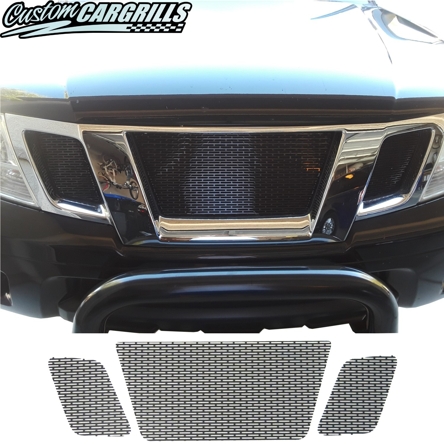 2009 - 2019 Nissan Frontier Mesh Grill Set