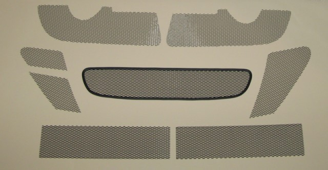 06-08 Porsche Cayman Small Mesh Grill Kit