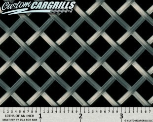 S.W.A.T. (Super Wide And Thick) Flat Wire Grill Mesh Sheets