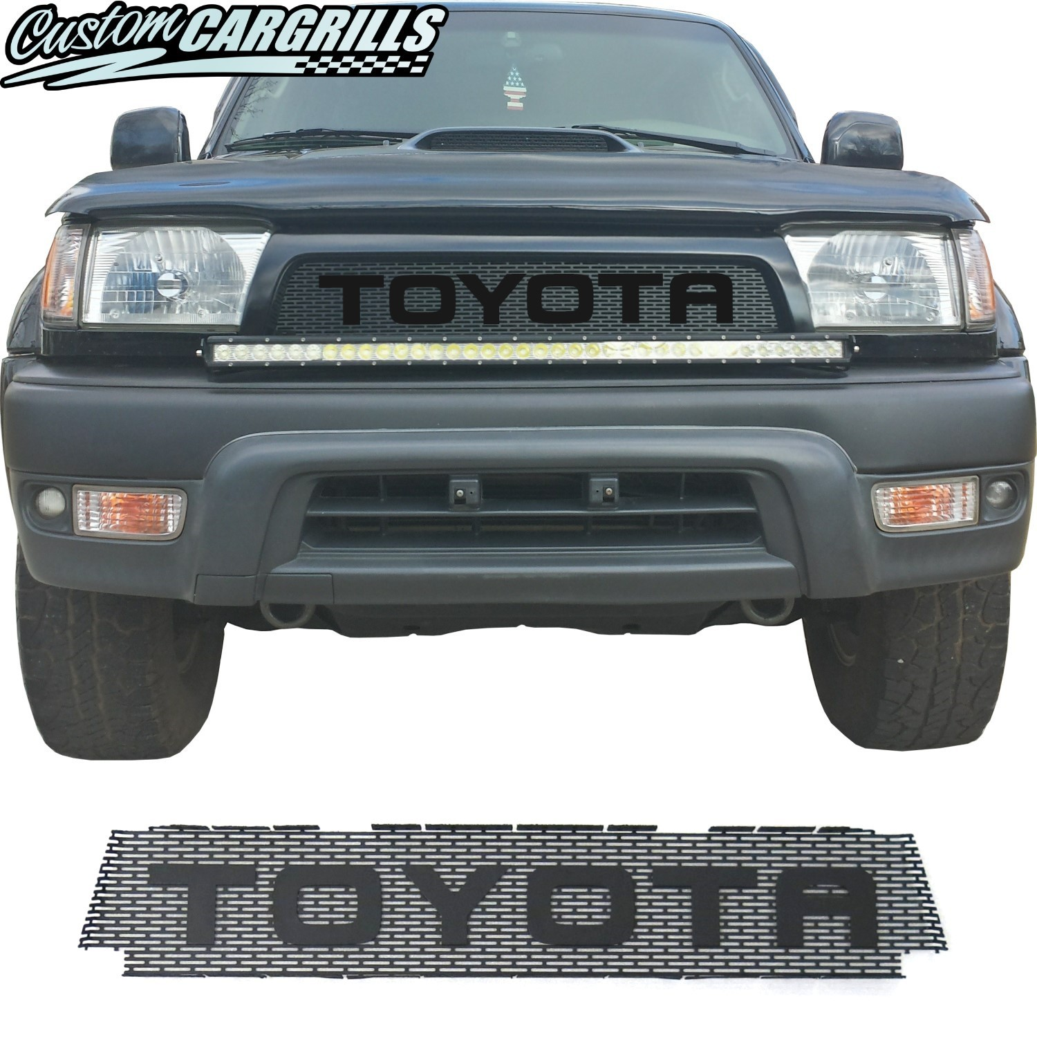 1996-98 (and 99-02*) Toyota 4Runner Grill Mesh With Big Letters
