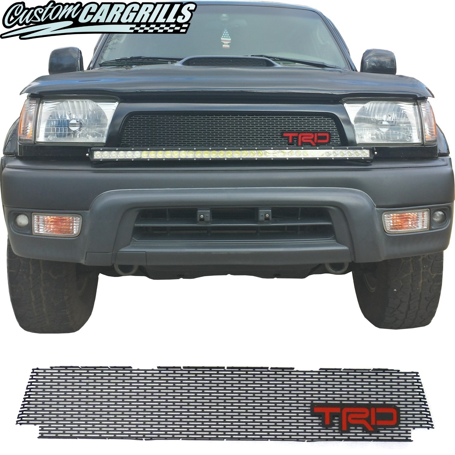 1996-98 (and 99-02*) Toyota 4Runner Grill Mesh With TRD Emblem