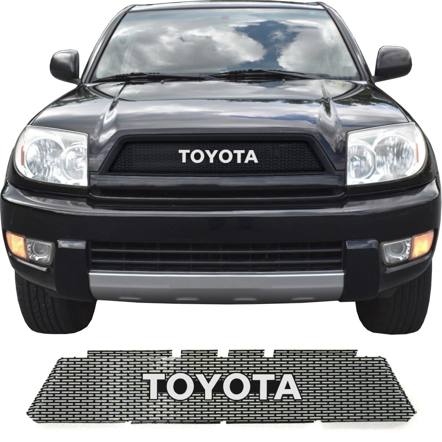 2003-05 Toyota 4Runner Grill Mesh with Toyota Emblem