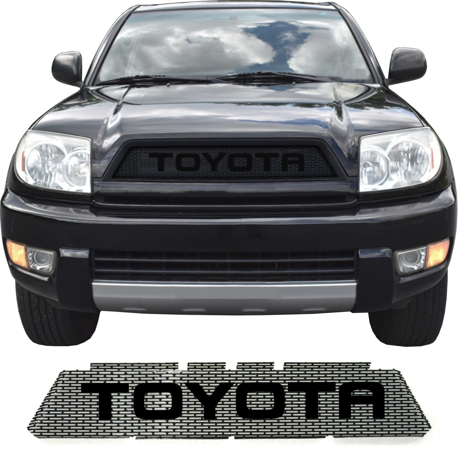 2003-05 Toyota 4Runner Grill Mesh with Big Letters