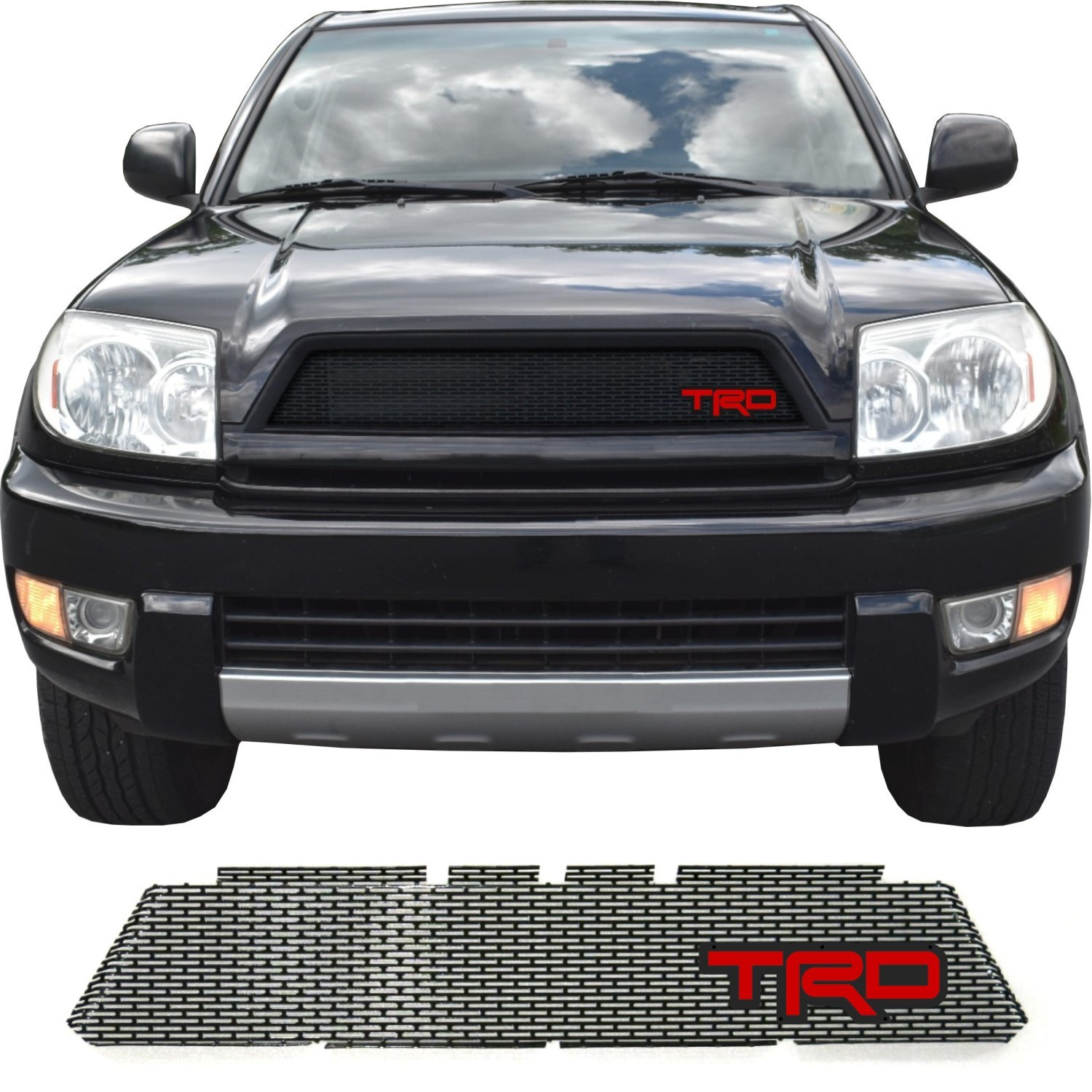 2003-05 Toyota 4Runner Grill Mesh with TRD Emblem