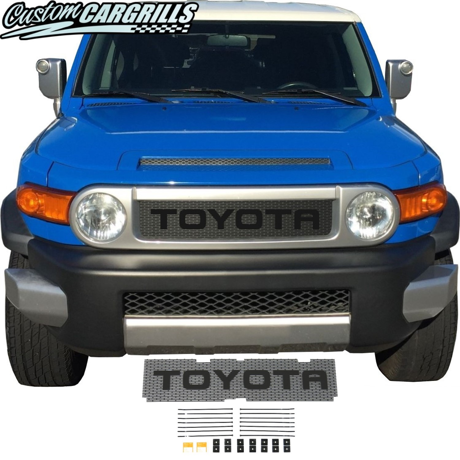 2006-14 Toyota FJ Cruiser Grill Mesh With Big Letters