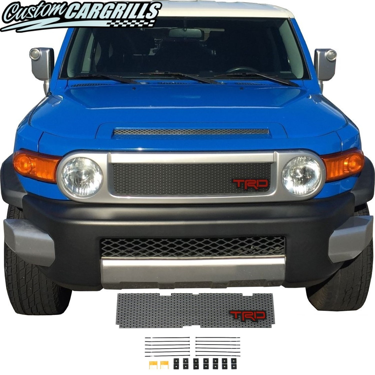 2006-14 Toyota FJ Cruiser Grill Mesh With TRD Emblem