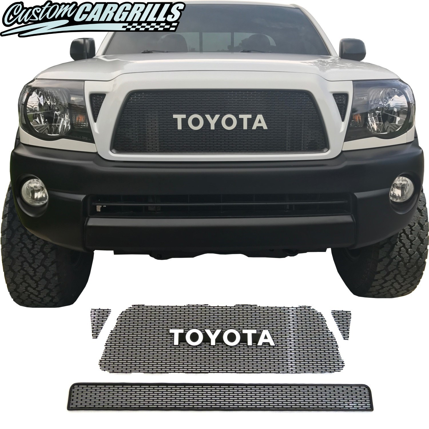 2005 - 2011 Toyota Tacoma Mesh Grill With Toyota Emblem