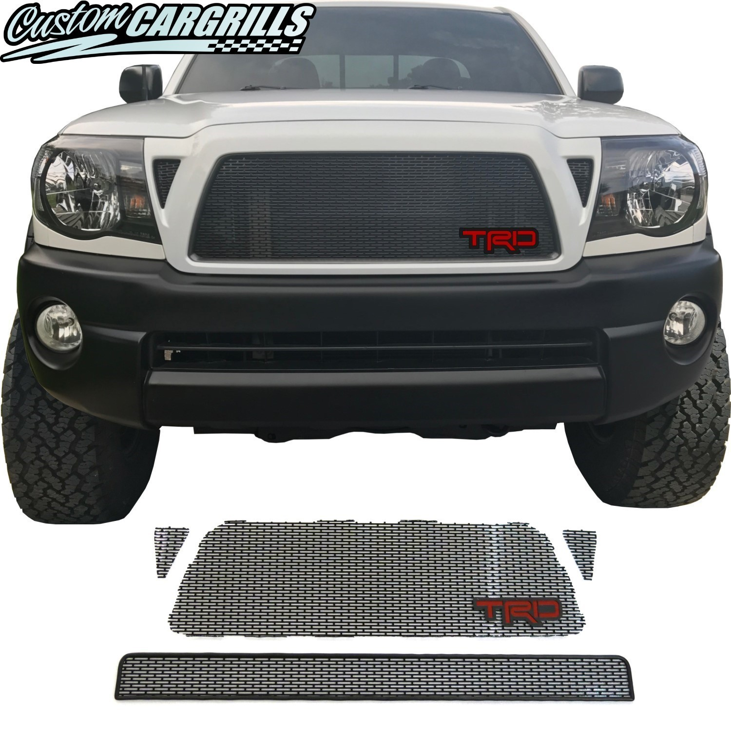 2005 - 2011 Toyota Tacoma Mesh Grill With TRD Emblem
