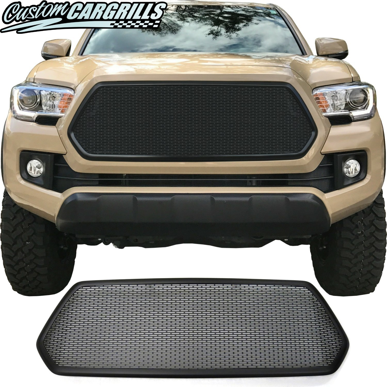 2016 - 2017 Toyota Tacoma Mesh Grill with Bezel