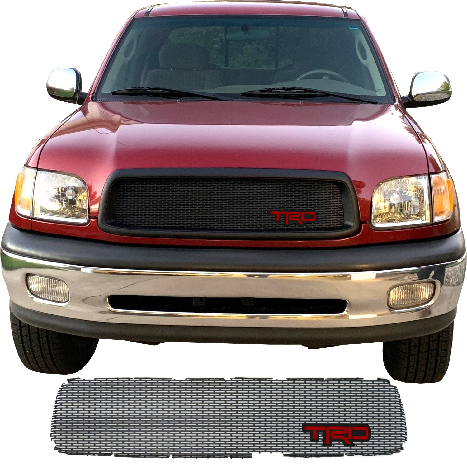 2000-02 Toyota Tundra Grill Mesh with TRD Emblem