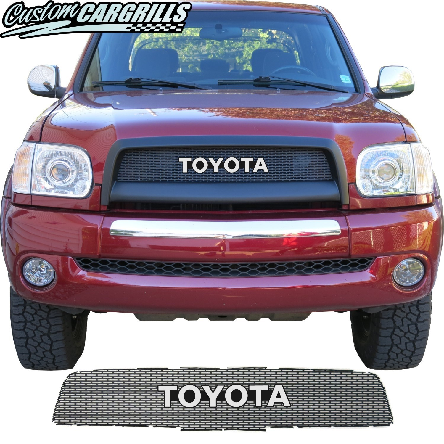 2003-06 Toyota Tundra Grill Mesh with Toyota Emblem