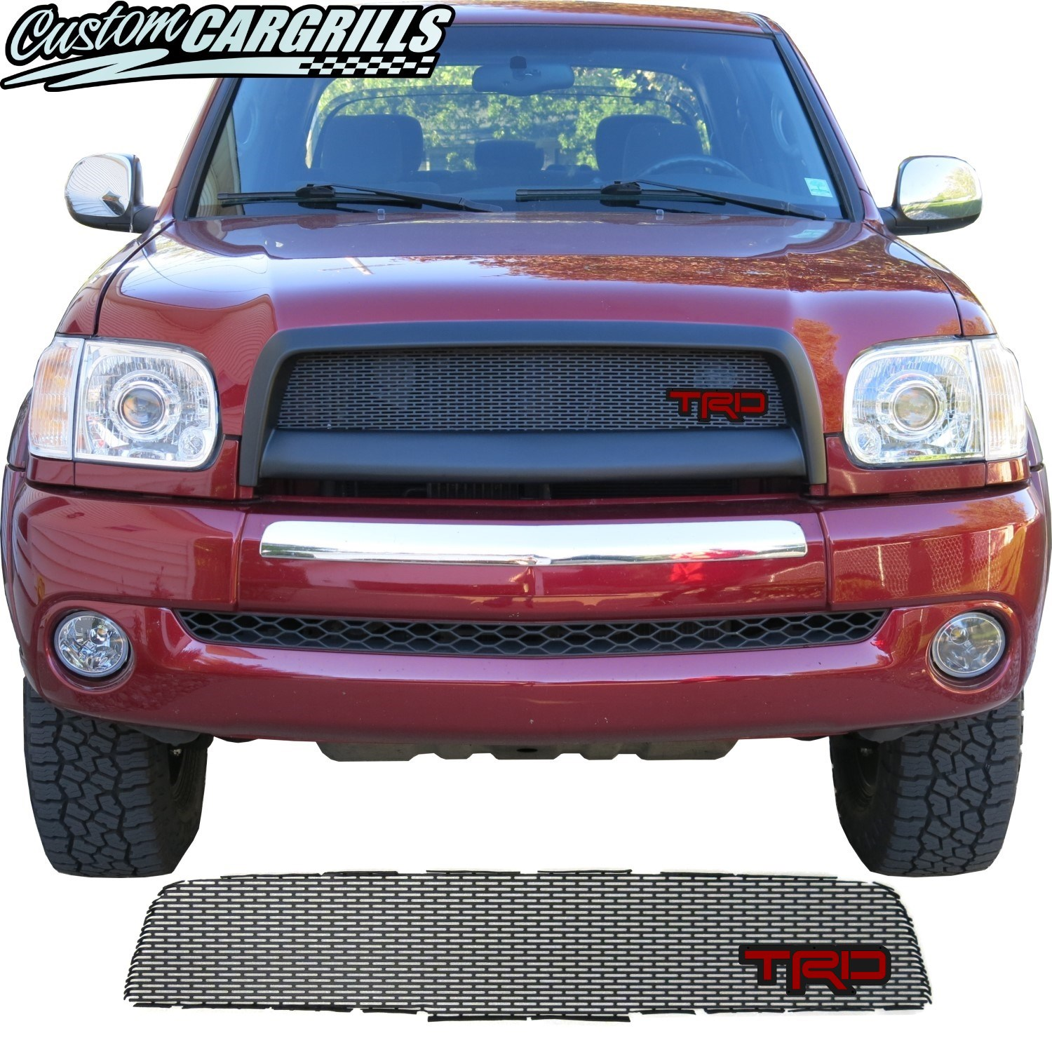 2003-06 Toyota Tundra Grill Mesh with TRD Emblem