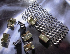 8 Stainless Steel Install Clips