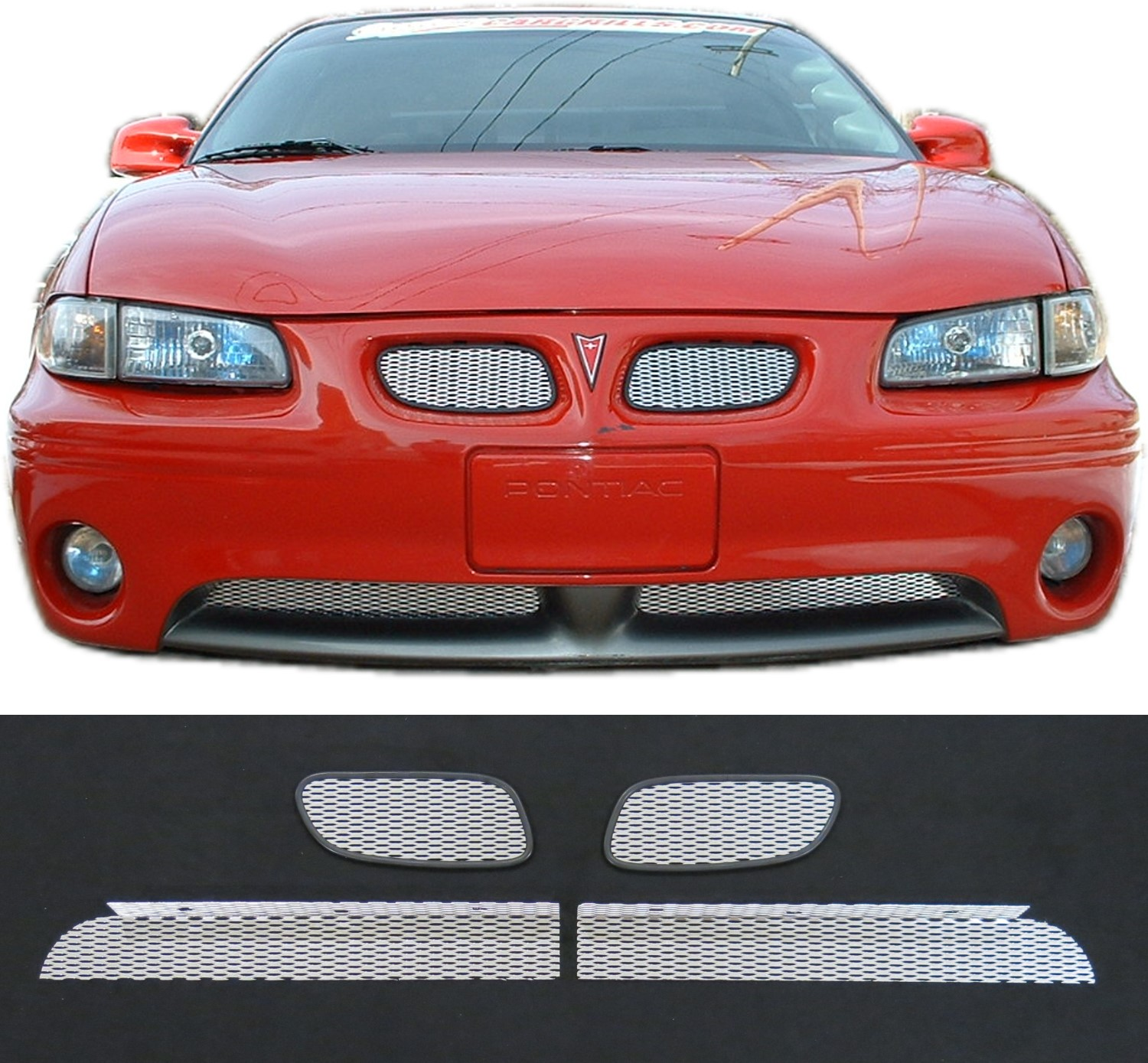 Ccg Mesh Grill Inserts For 1997 03 Grand Prix Gt Gtp