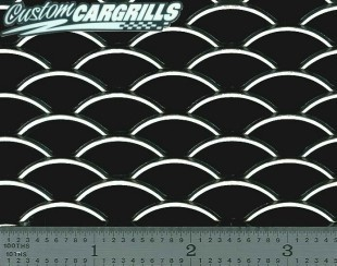 Scrap Stacking Oval XXL Grill Mesh