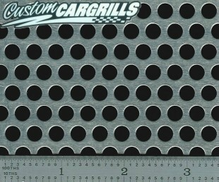 Small Perforated Aluminum Grill Mesh Sheets