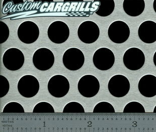Perforated XXL Aluminum Grill Mesh Sheets
