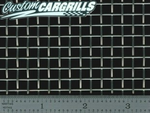 Scrap Stainless Woven Square Grill Mesh
